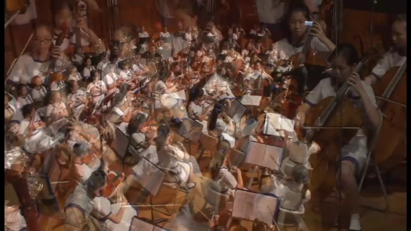 Happy Birthday Variations by Che Yi Lee performed by DGS Symphony Orchestra
