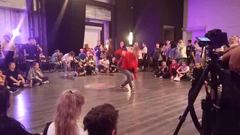 Влад - Отбор в hip-hop junior - Hip Hope Dance Battle