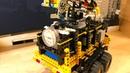 Compressor Trailer with Floodlight – Pneumatic – Lego Technic MOC