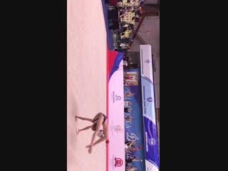 Мария Ермолаева - скакалка (многоборье) // Первенство Москвы 2019