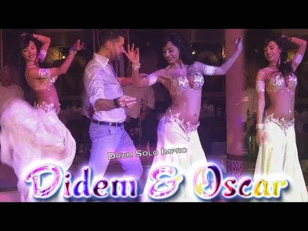 Didem Kinali Oscar Flores - Belly Dance Drum Solo Improvisation