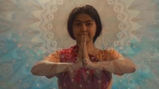 Meghamala dancing Shiva's dance