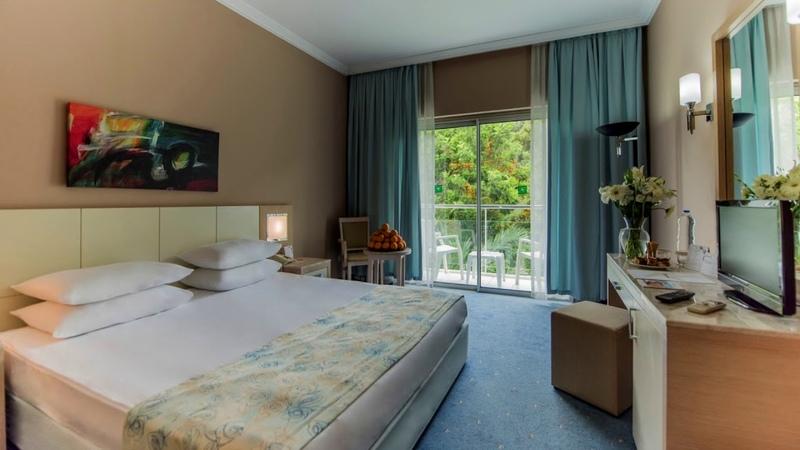 Отель Гранд Парк 5* (Кемер). Grand Park 5* (Кемер, Бельдиби). Рекламный тур География.