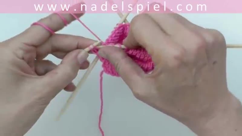 Ажурные носки 3 Нидл