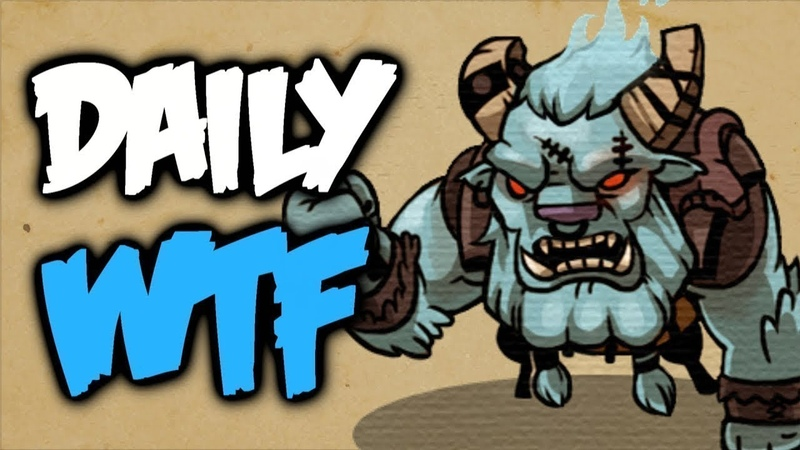 Dota 2 Daily WTF - 5 Can't kill me
