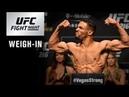 UFC Fight Night Milwaukee: Weigh-in