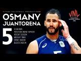 Osmany Juantorena AMAZING Top 10 Crazy Actions. VNL - 2018.