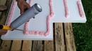 Как наносится клей пена на лист пенополистирола штукатурный фасад на каркасном доме