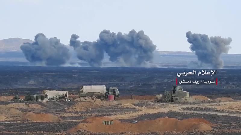 عدسة الإعلام الحربي توثق سيطرة الجيش السوري على منطقة قبر الشيخ حسين