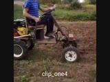 Трактор из мотоблока - Проект « Дача »