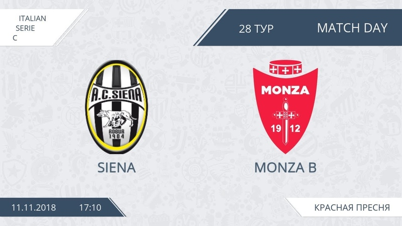 AFL18 Italy Serie C Day 28 Siena Monza B