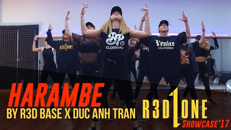 Doumbfoundead Harambe Rehearsal and Performance by R3D BASE | Choreography by Duc Anh Tran