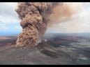 Впечатляющее извержение вулкана Килауэа на Гавайях