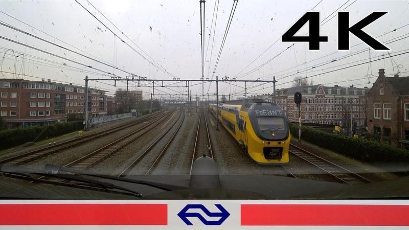 4K CABVIEW HOLLAND Amsterdam - Almere ICM 28feb 2019