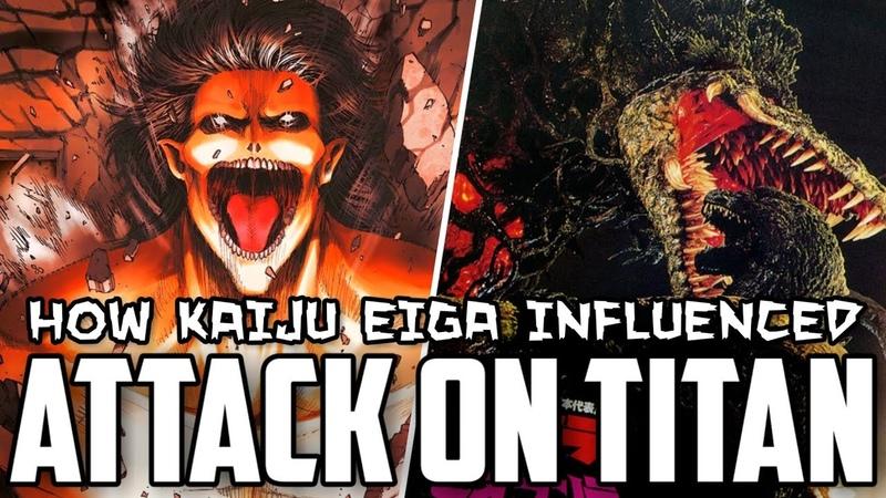 How Kaiju Eiga Influenced Attack on Titan