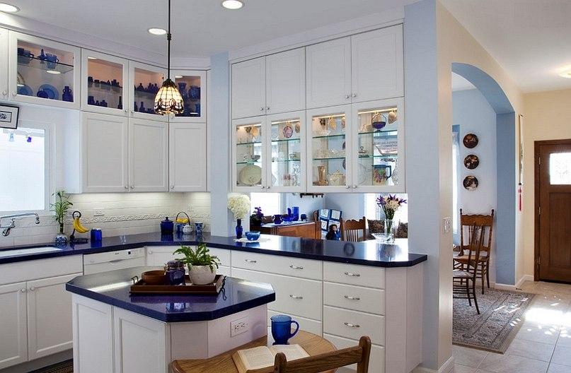 Выбирайте, какой вариант кухонного островка вам понравился больше?