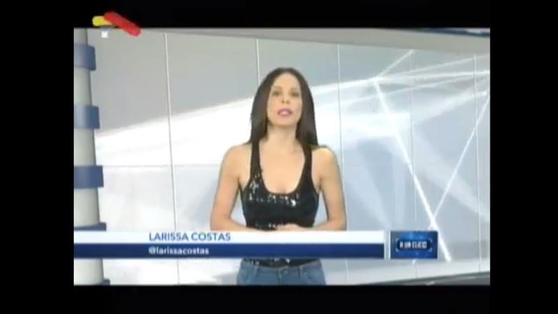 (Vídeo) Larissa Costas, A un click 23 Marzo de 2019
