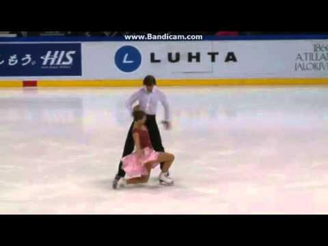 Olesia KARMI / Max LINDHOLM SD Finlandia Trophy 2015
