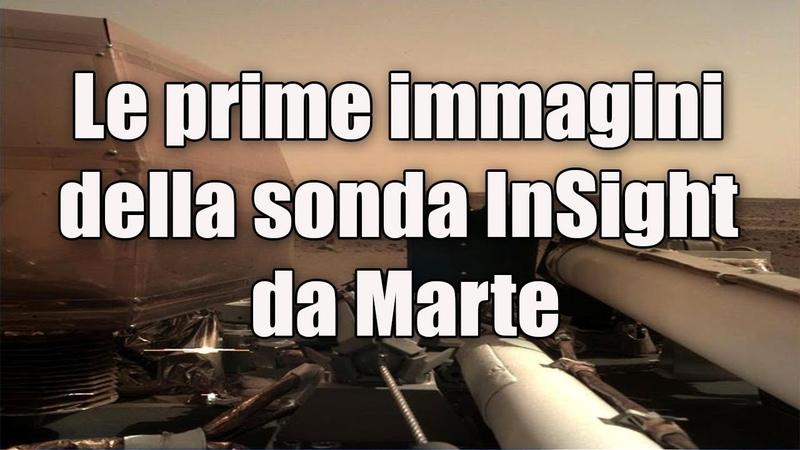 La sonda InSight atterra su Marte ecco cosa ha catturato
