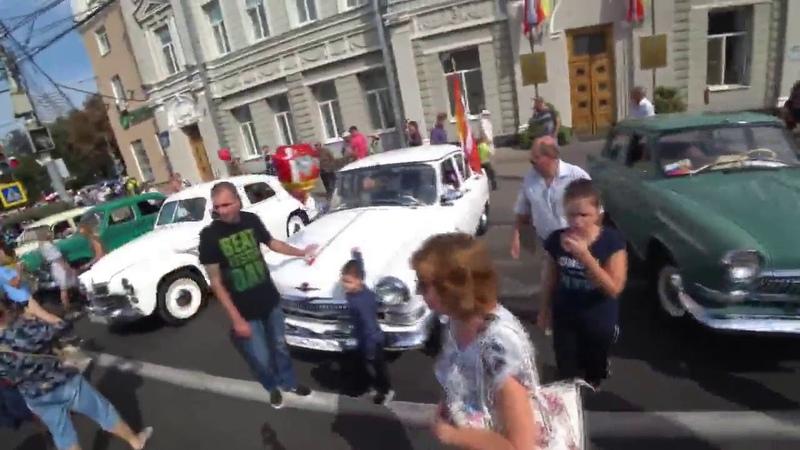 воронеж день города цент 15 09 18 выставка машин концерты