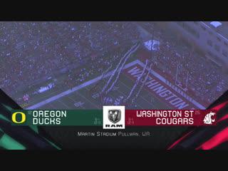 NCAAF 2018 / Week 08 / (12) Oregon Ducks - (25) Washington State Cougars / 2Н / EN