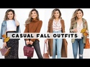4 Casual FALL OUTFIT IDEAS Fall Outfit Lookbook 2018 with Koolaburra Miss Louie