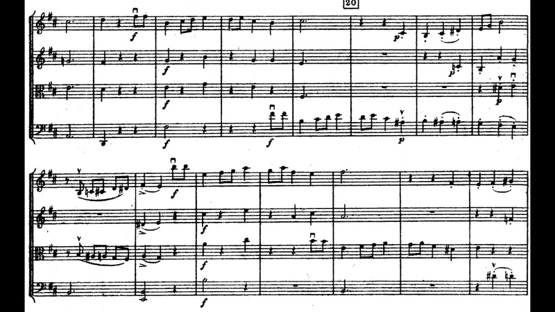 Sergei Rachmaninoff - String Quartet No. 1 (1889-90) [Score-Video]