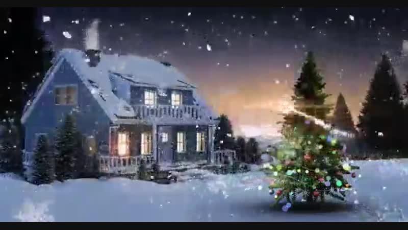 С Новым годом и Рождеством Христовым! Звезда на ёлке, символизирует рождение Иисуса Христа и по этому поводу все празднуют..