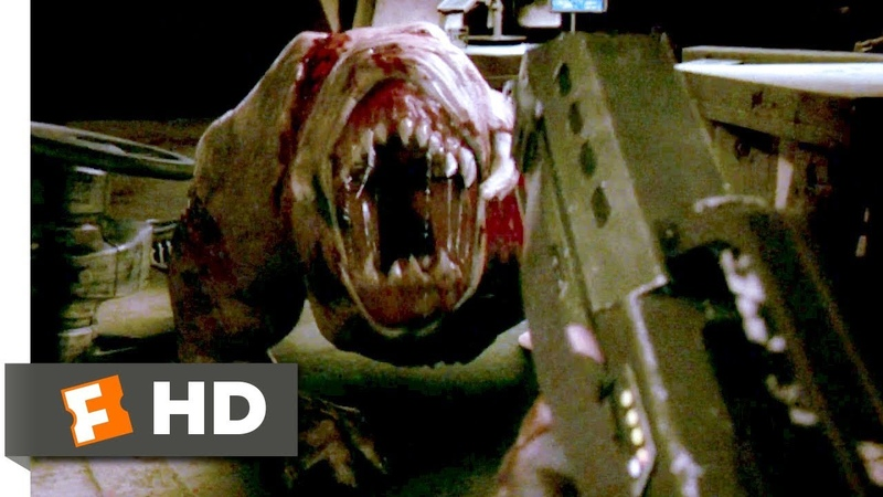 Doom (2005) - First Person Shooting Scene (910) | Movieclips