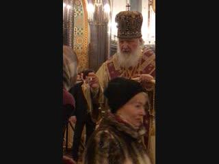 Помазание прихожан в канун дня памяти святителя Николая