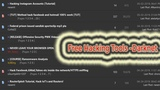 How To Download Hacking Tools Free From Deep web Hacking Tutorial -Darknet