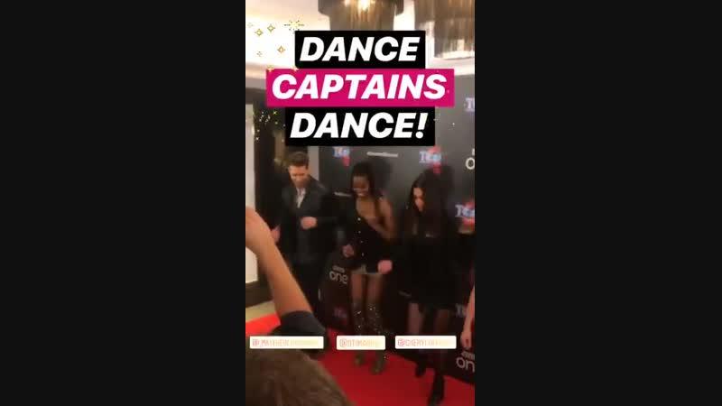 IG Dance Captains Dance via @GreatDancerTV's story 1012