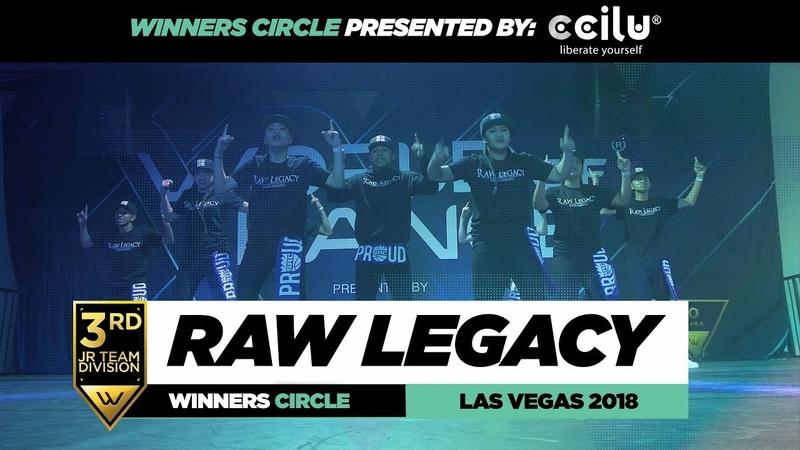 Raw Legacy 3rd Place Jr Team Winners Circle World of Dance Las Vegas 2018 WODVEGAS18