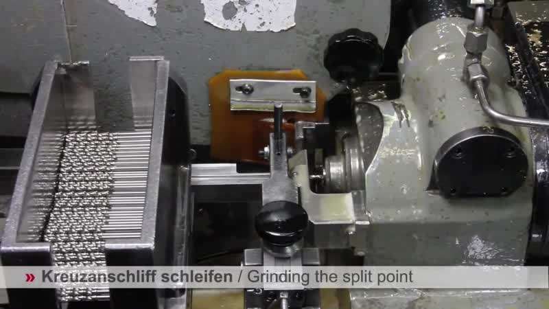 RUKO Производство спирального сверла HSS
