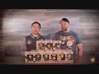 Dragonball and dragon ball z pop! unboxing!