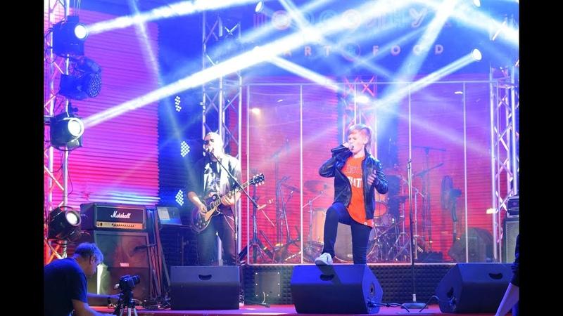 Захар Усенко (Free Fire) - Sweet Child O Mine (Guns N Roses cover), Подсолнухи ArtFood, live