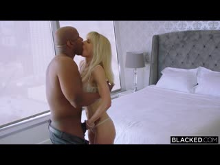 Cassie bender – you talk too much [blacked. big cock, big tits, blonde]