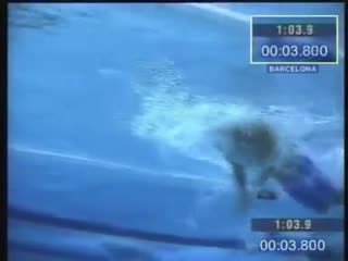 Michael phelps butterfly underwater