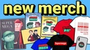 NEW SUPERMEGA MERCH WEBSITE Available Now