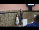 Женюша и Катюша поздравляют своего папочку с 50 летием