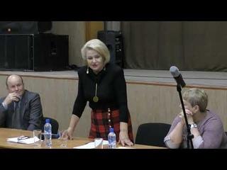 13 октября 2018 г состоялась встреча с руководителем фракции КПРФ в Гос.думе Останиной Н.А.(часть 2)