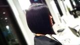 Kenneth Siu's Haircut - A Line Bob