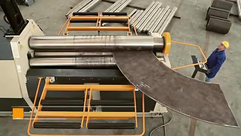 4R HSS 30-380 4Rolls Hydraulic Plate Bending Machine with NC Control.mp4