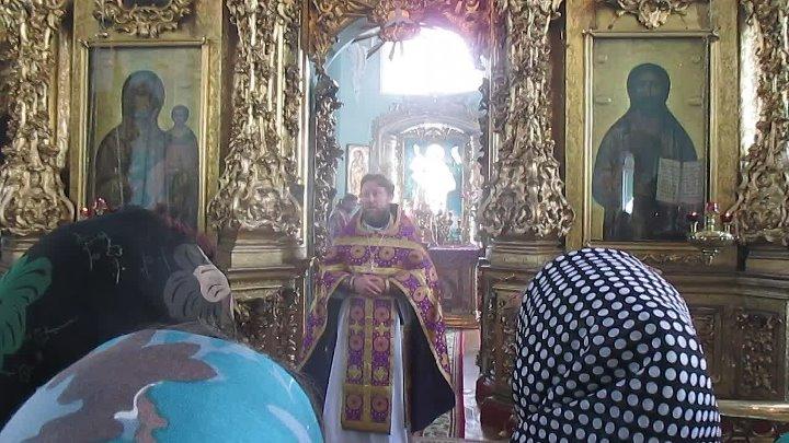 Сергиево Казанский собор г Курск протоиерей Михаил Зайцев слово на Великий Четверг