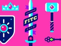 User Made Content: Gavin Strange - FITC Amsterdam 2018 Titles