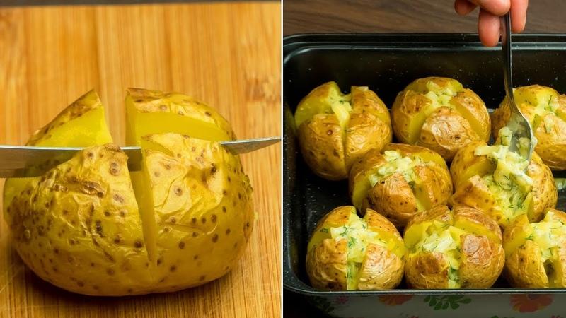 Без грамма мяса! Любимый способ приготовления вкусной, ароматной и сочной картошки! | Appetitno.TV