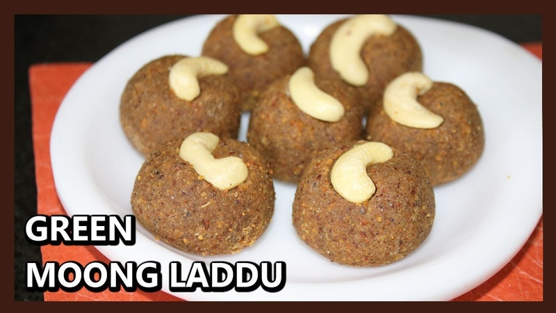 Tasty and Healthy Moondal Ladoo in 5 min | Green Gram Laddu | Healthy Ladoo Recipe for Kids