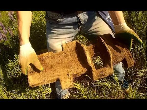 Два дня разведки новых мест Траки показали что металл есть Полевой душ из лопаты Fiskars