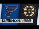 St. Louis Blues vs Boston Bruins | Jan.17, 2019 | Game Highlights | NHL 2018/19 | Обзор матча