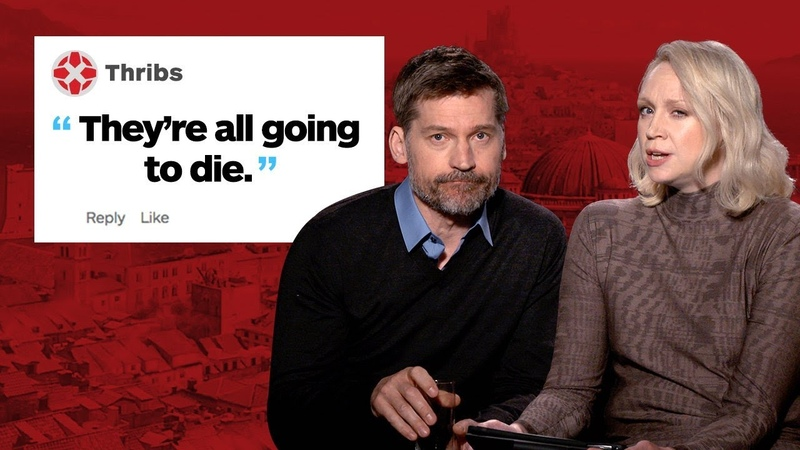 Game of Thrones Brienne and Jaime Respond to IGN Comments